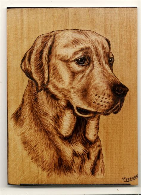 Dog Pyrography Patterns Free