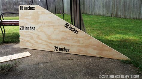 Dog Ramp Plans With Sides