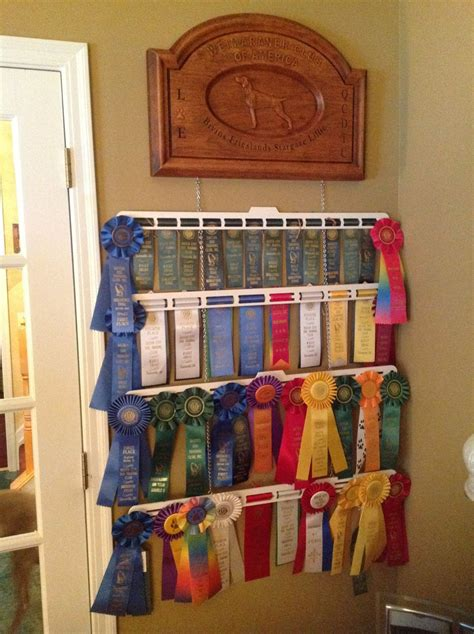 Dog Show Ribbon Display Cases