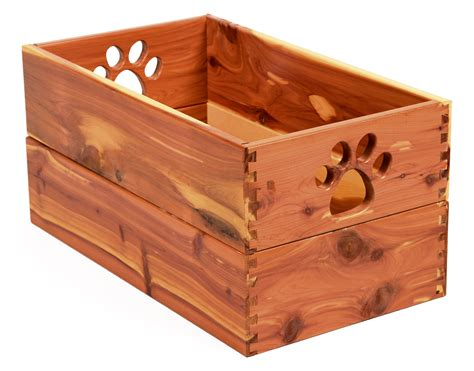 Dog Toy Box Wooden
