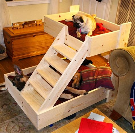Dog-Bed-Plans-With-Stairs