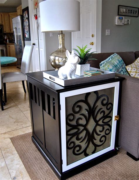 Dog-Crate-Side-Table-Diy