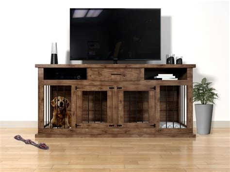 Dog-Crate-Tv-Stand-Plans