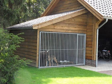 Dog-House-With-Attached-Kennel-Plans