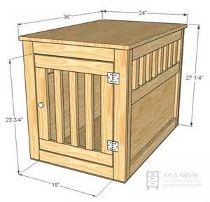 Dog-Kennel-Side-Table-Plans