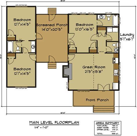 Dog-Trot-House-Floor-Plans