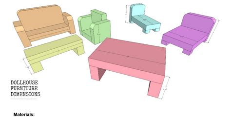 Doll Furniture Plans Pdf