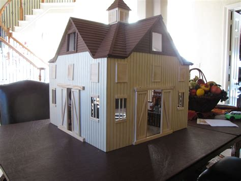Doll House Barn Plans