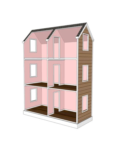 Doll House Plans For 18 Doll
