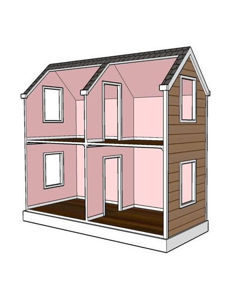 Doll House Plans For Sale
