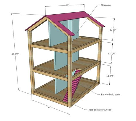 Doll House Plans Woodwork General Contractor
