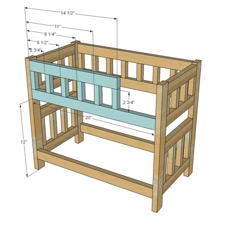 Doll-Bed-Woodworking-Plans