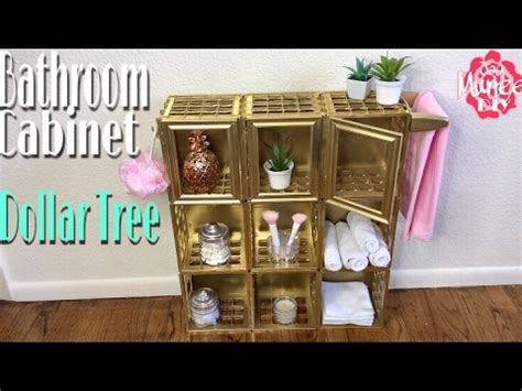 Dollar Tree Diy Bathroom Storage Cabinet