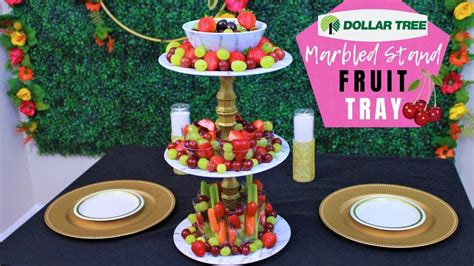 Dollar Tree Fruit Stand Diy Fire