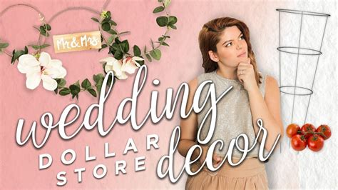 Dollar store wedding decor friggin gorg Image