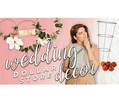 Best Dollar store wedding decor friggin gorg
