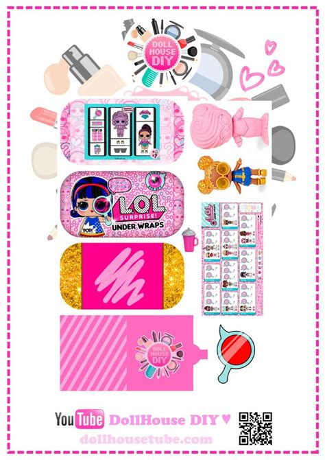 Dollhouse Diy Printables Lol