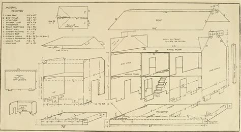 Dollhouse Furniture Plans For Free