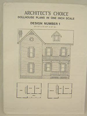 Dollhouse Plans 1 12 Scale