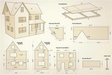 Dollhouse-Blueprints-Woodworking-Plans-Free