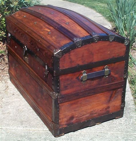 Dome Top Steamer Trunk Plans For Sale
