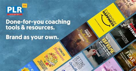 [click]done For You Plr Content Courses  Products For Coaches .