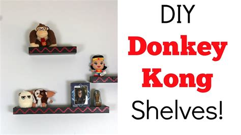 Donkey Kong Shelves Diy