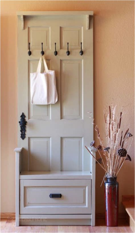 Door Coat Rack Diy