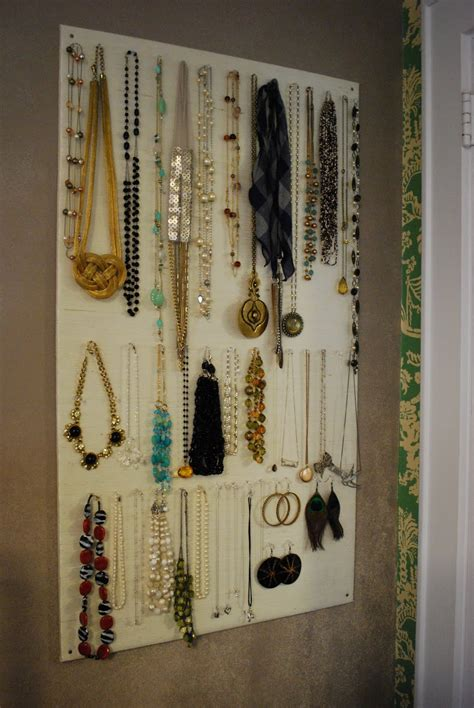 Door Jewelry Organizer DIY