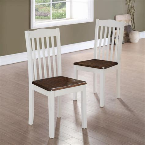 Dorel Living Rustic Dining Chairs