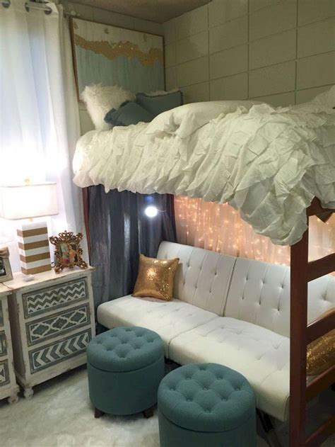 Dorm Bunk Bed Decorating Ideas