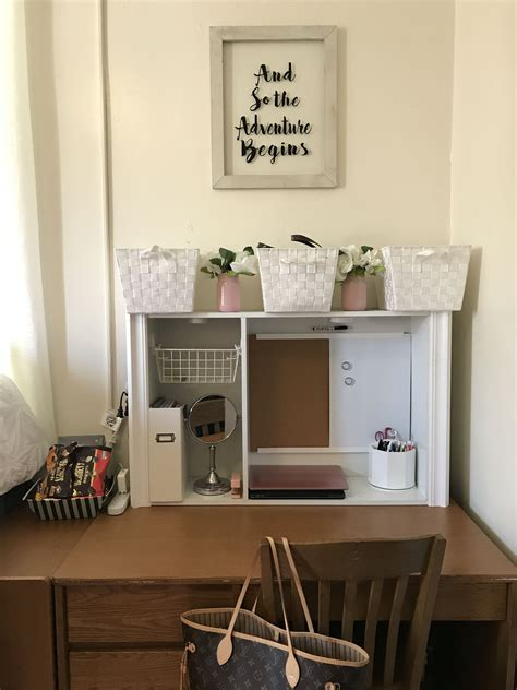 Dorm Desk Hutch Plans