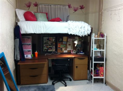 Dorm Loft Bed DIY