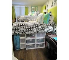 Best Dorm room organization storage