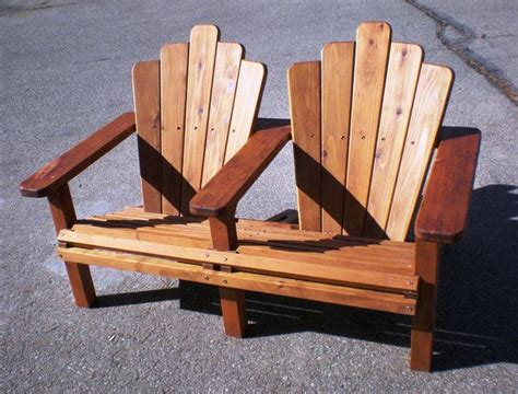 Double Adirondack Rocking Chair Plans