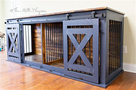 Double Dog Crate Plans