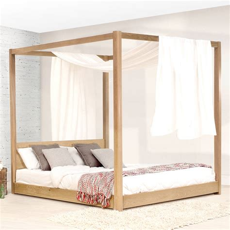 Double Four Poster Bed Frame