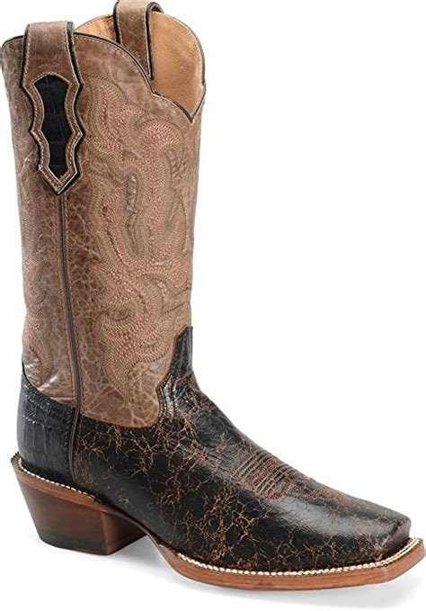 Double H Cattle Baron Black Miel Boot DH5446