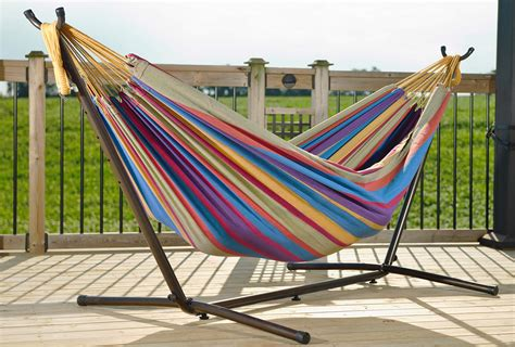 Double Hammock Stand Plans