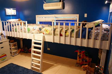 Double Loft Bed Diy