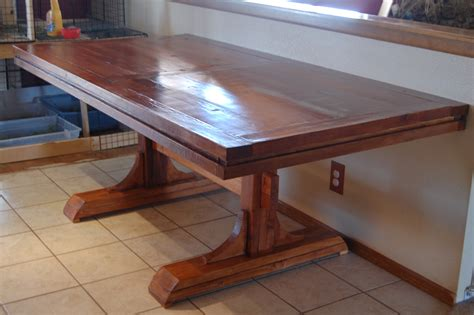 Double Pedestal Table Plans