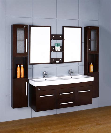 Double Wall Cabinet Bathroom Vanity