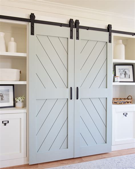 Double Wide Barn Door DIY