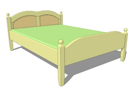 Double-Bed-Frame-Plans