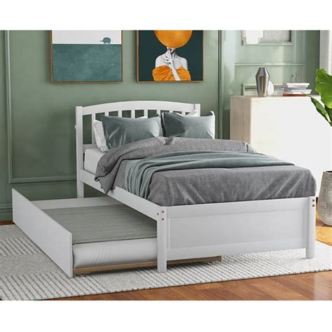 Double-Bed-Frame-With-Trundle-Plans