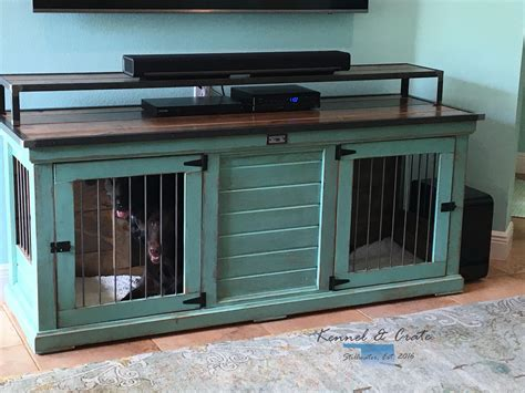 Double-Dog-Kennel-Plans-Indoor