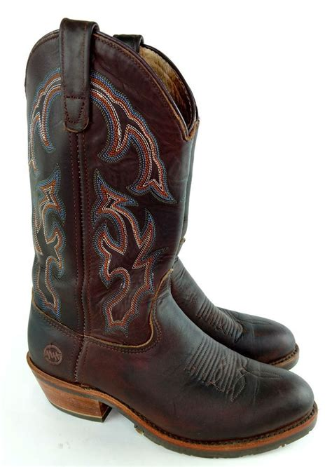 Double-H Boots: Men's USA-Made Gel Ice Cowboy Boots DH1552