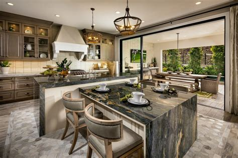 Double-Kitchen-Island-House-Plans