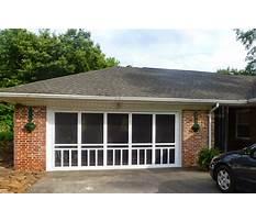 Best Double car garage enclosure ideas