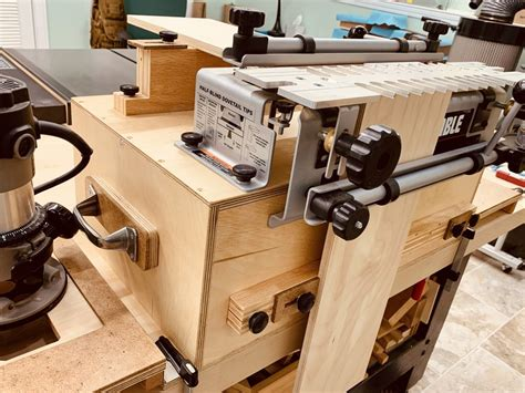 Dovetail Jig Workstation Planswift